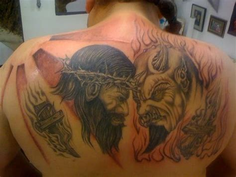 Be the type of person that when your feet touch the after all, even the devil believes that god exists. Pin on Devil tattoos