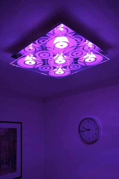 colour changing led ceiling light design halogen l with