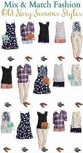 Old Navy Mix And Match Wardrobe For Summer 2016