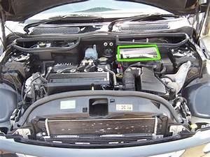 Mini Car Battery Location
