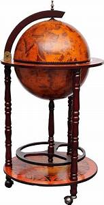 Globe Terrestre Bois : globe terrestre mappemonde en bois the socialite family ~ Teatrodelosmanantiales.com Idées de Décoration
