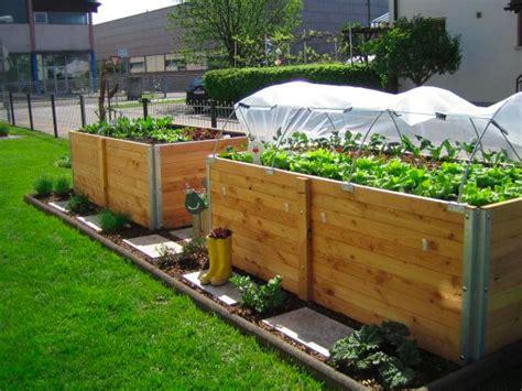 Gartengestaltung Mit Hochbeet by Gartengestaltung Mit Hochbeet Hochbeet Klassisch Garten