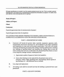 Free Contractor Invoice Template Word 13 Roofing Contract Templates To Download For Free