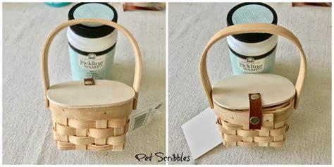 Make A Pretty Mini Picnic Basket Favor!