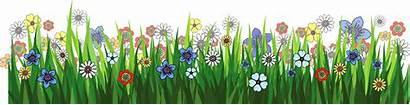Flower Garden Clipart Cartoon Transparent Grass Clipground