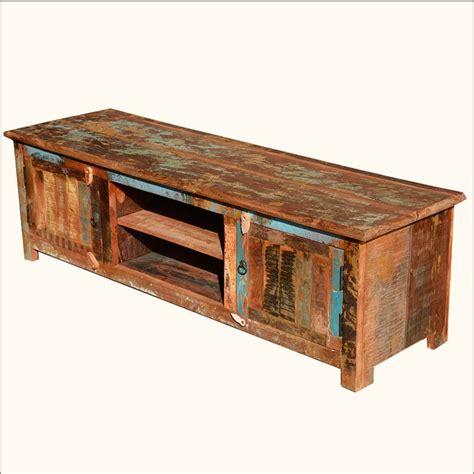 reclaimed wood furniture appalachian tv stand rustic media