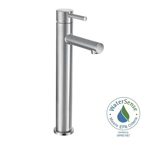 faucet for kitchen sink moen align single 1 handle bathroom faucet in chrome 7175