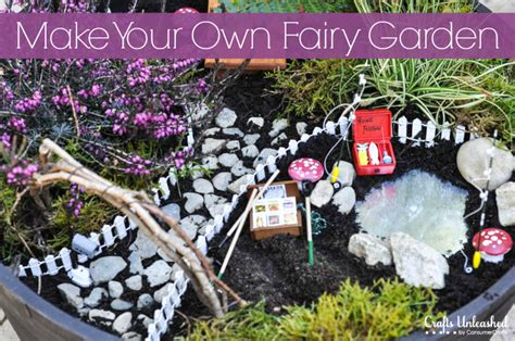 Garden Crafts :  Watch Your Own Whimsical Garden