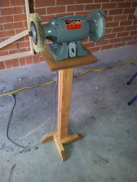 bench grinder stand a bench grinder stand the woodwork
