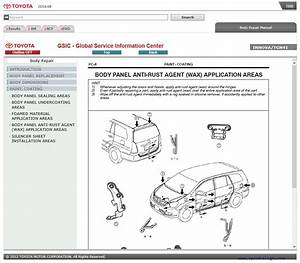 Toyota Innova Cars Service Information   Diagram