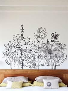 Geninne's Art Blog: Flower Mural