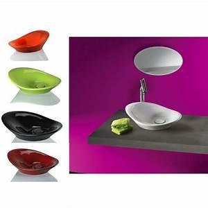 Vasque Originale : vasque forme vague ~ Dode.kayakingforconservation.com Idées de Décoration