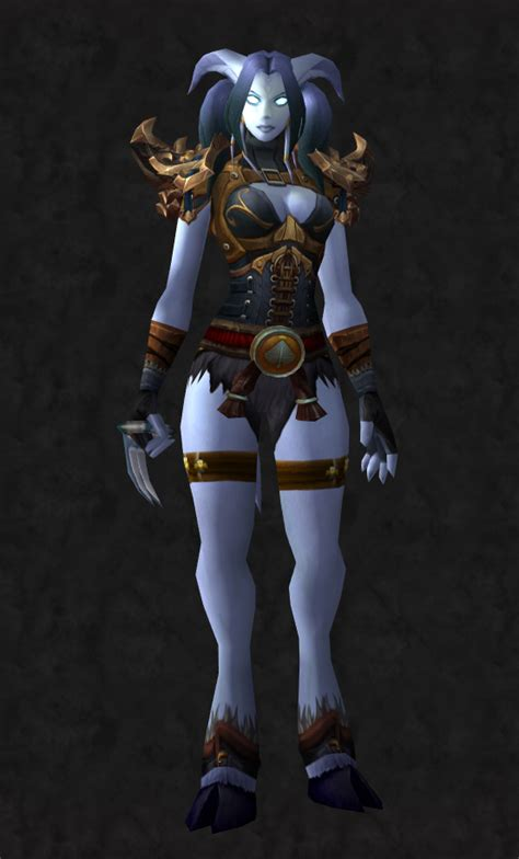 draenei warcraft female monk stoicism wow transmog weapons cool super
