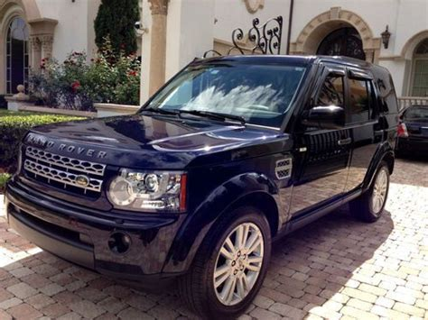 Find Used 2010 Land Rover Lr4 Hse Sport Utility 4-door 5