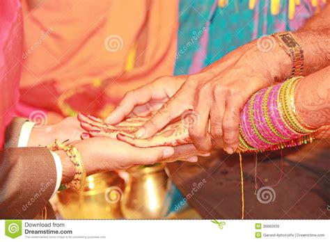 kanyadanam   south indian marriage editorial stock