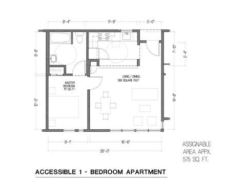 One Bedroom Unit Layout by Aldea 1 Bedroom Floor Plan Ada Unit Aldea San Miguel