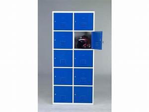 Casier De Vestiaire : vestiaire 5 casiers par colonne de 400mm contact ouest ~ Edinachiropracticcenter.com Idées de Décoration