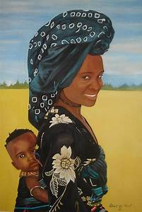 Mother And Child Painting by Patrick Hunt