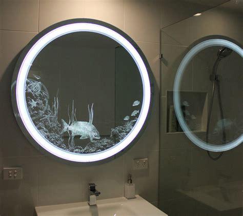 custom lighted mirror led lighted  clearlight designs