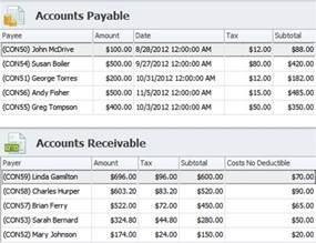 Accounts Payable Receivable