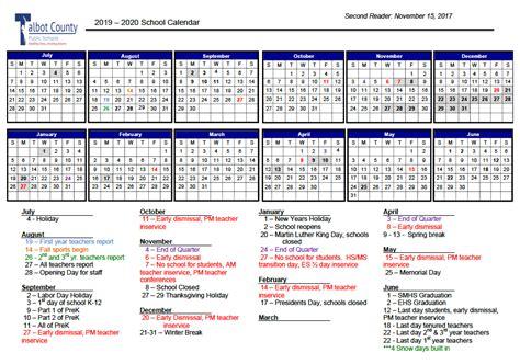 talbot proposed school calendars revised local stardemcom
