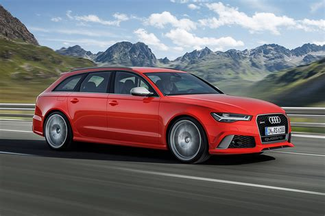Audi Rs6 Avant Performance First Drive Car June 2018 By