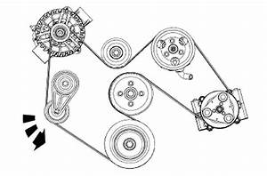 1995 Mustang Serpentine Belt Diagram