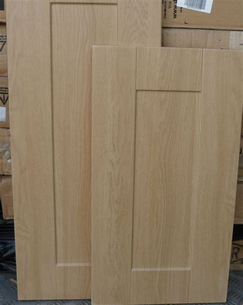 Panel Style Shaker Light Oak Kitchen Cupboard Door Kitchen