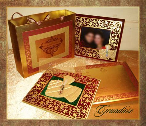 Designer Wedding Invitation Cards Kankotri Mumbai ID