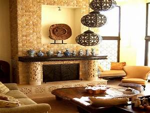 Tuscan Style Decorative Pillows Bali Living Room