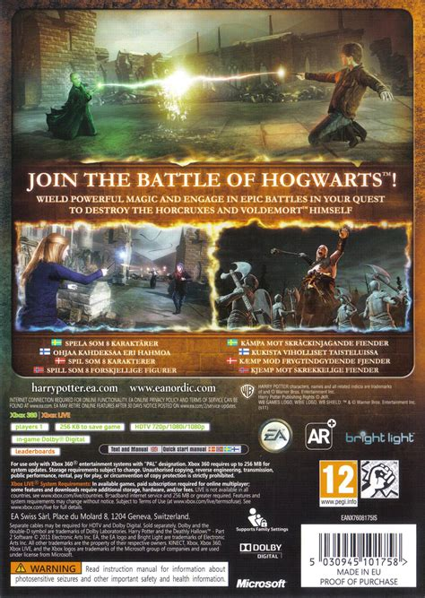 harry potter   deathly hallows part  game