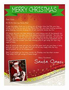 easy free letter from santa magical package printable With santa claus letter packages