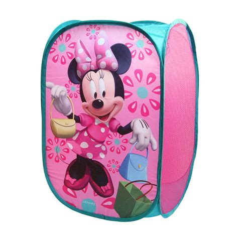 Minnie Mouse Bedroom Decor Uk by Disney Minnie Mouse Pop Up Room Tidy Storage New Ebay