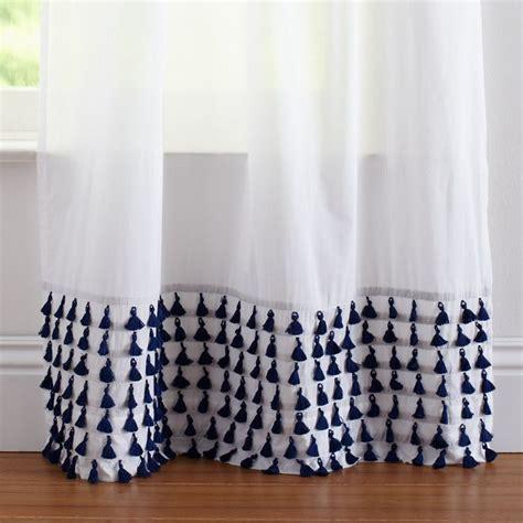 tassel fringe curtain panel tassels