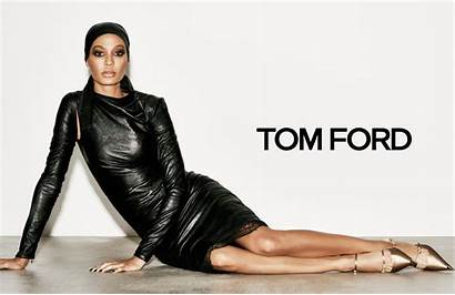 Tom Ford Joan Smalls Spring Campaign Ad