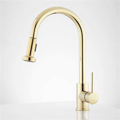 kitchen faucets pull kitchen faucets brass brushed brass kitchen faucet pull