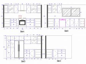 Small Kitchen Cabinets 3d Drawing Home Design And Decor