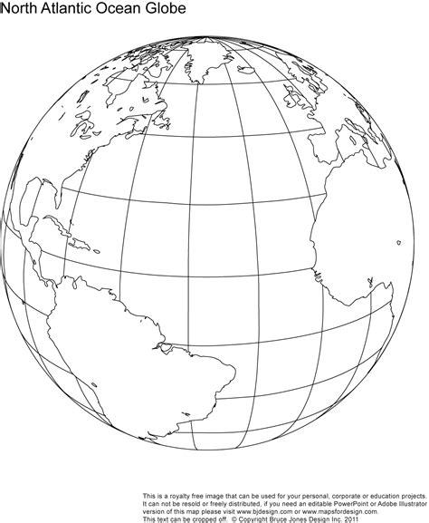 earth outline globe 9 best images of printable outline world globe printable