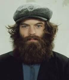 Man with Wild Hair and Beard