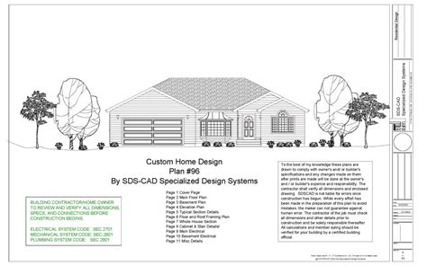 custom plans plan 96 custom home design free house plan reviews