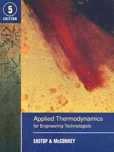 Solution Manual Of Applied Thermodynamics By Mcconkey Pdf