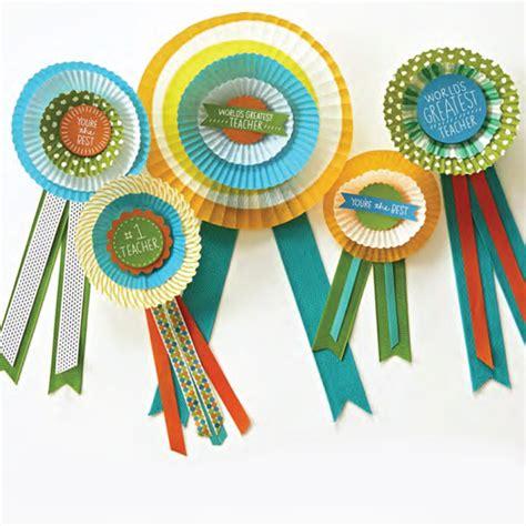 teacher appreciation ribbon craft hallmark ideas