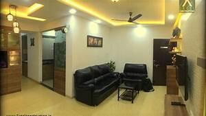 2 bhk apartment interior design at petals wakad pune With interior decoration for 2bhk