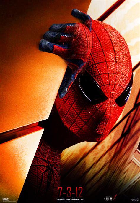 affiche   le film  amazing spider man