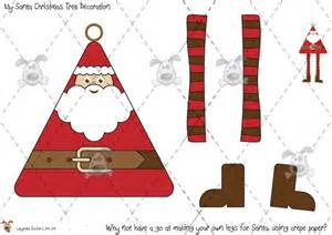 teacher s pet santa tree decorations premium printable classroom activities and games eyfs