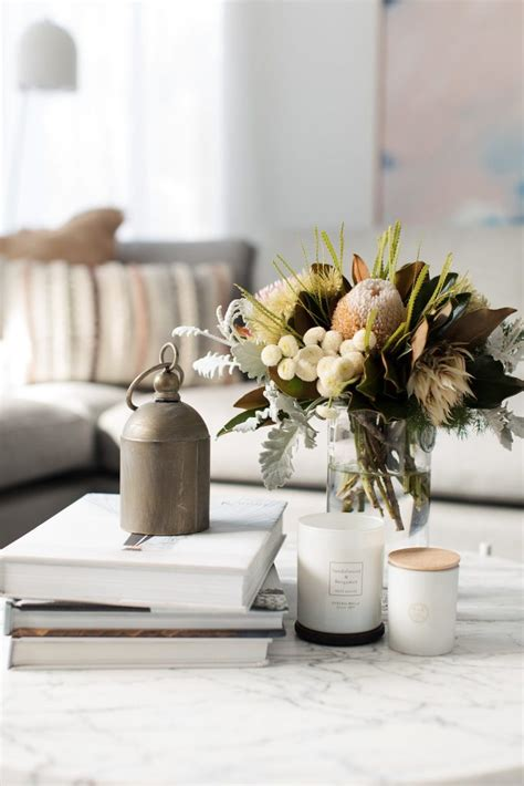 You don't need expensive artwork to make your coffee table display elegant and chic. Coffee Table Decor Ideas for a Cozy Living Room - Salvaged ...