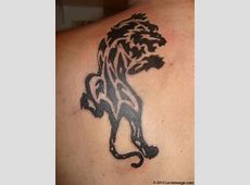 Tatouage Tribal Tigre Mollet Tattoo Art