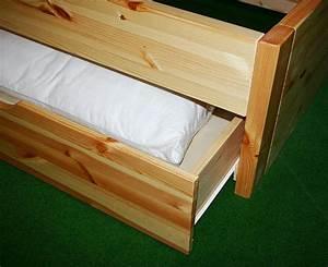 Bett Mit Schubladen 160x200 : bett 160x200 4 schubladen komforth he 45cm kiefer massiv gelaugt ge lt ~ Indierocktalk.com Haus und Dekorationen