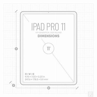 Ipad Dimensions Apple Inch Air Release