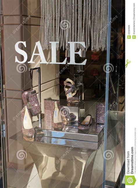 jimmy choo window display editorial photo image  shoes